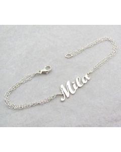 Custom Script Name Bracelet