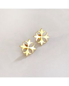 Maltese Cross Studs