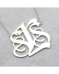 Custom Monogram Necklace