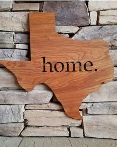 Home State Cutout Decor