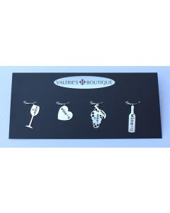 Wine-o Wine Glass Charms
